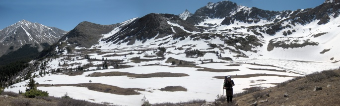 m below Lake Ann pass pano CO24